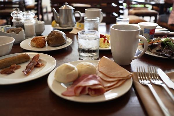 カイマーケットの朝食ビュッフェ