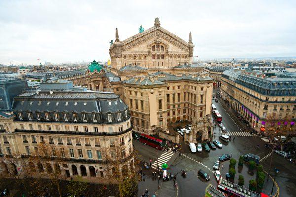 パリ9区にある「オペラ座(ガルニエ宮)」