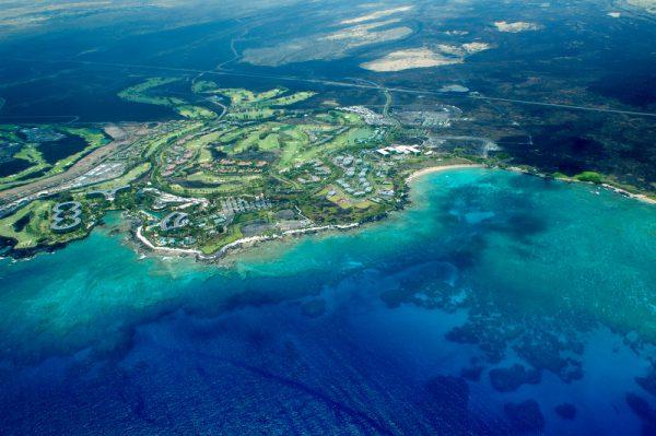 ハワイ島空撮
