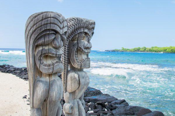 プウホヌア オ ホナウナウ国立歴史公園(ハワイ島)
