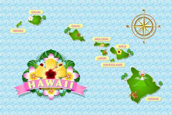 ハワイ島はハワイ諸島で最も大きな島