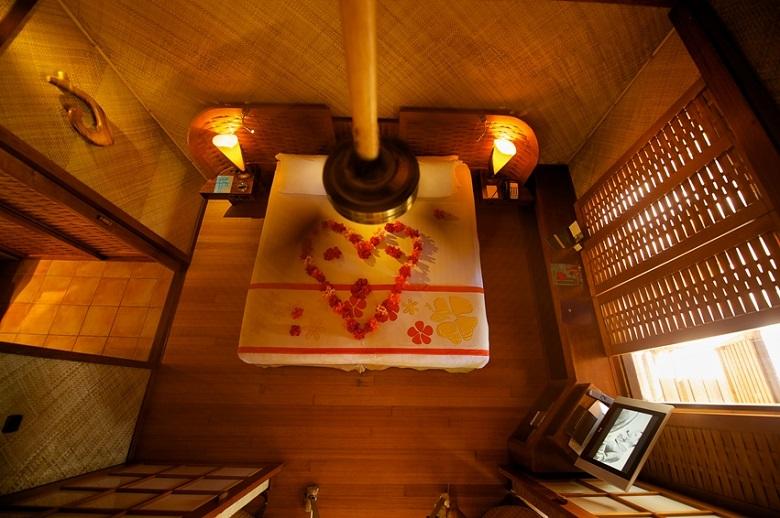 ルモアナリゾートのベッドルーム