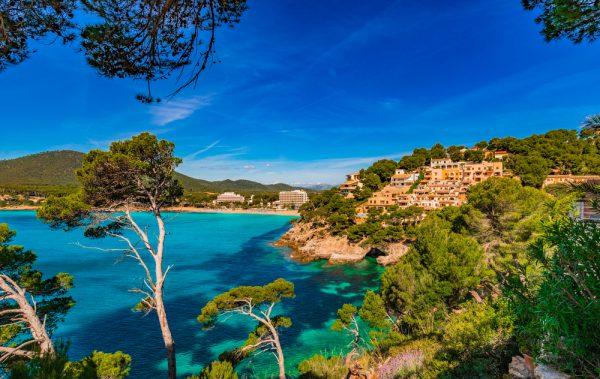 スペインのリゾート、マヨルカ島
