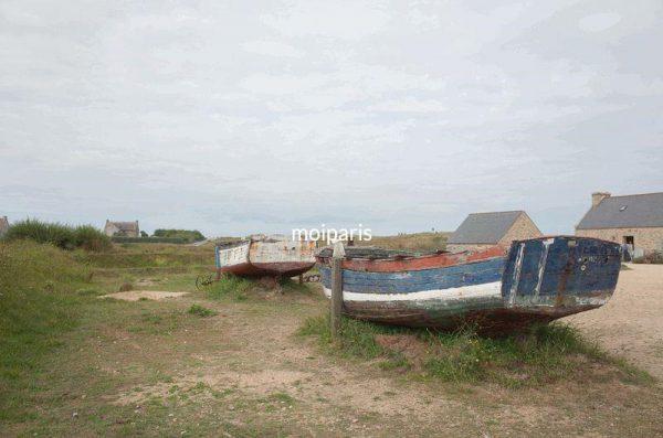 かつては税関として使われていた村