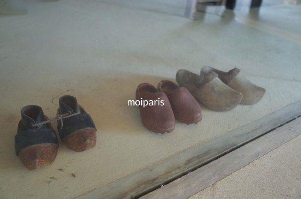 当時の木靴「サボ(sabot)」