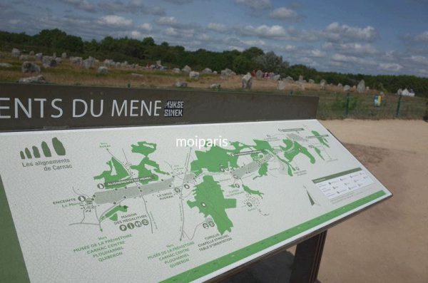 「メネック」「ケルレスカン」「ケルマリオ」という3つのグループに分かれている遺跡