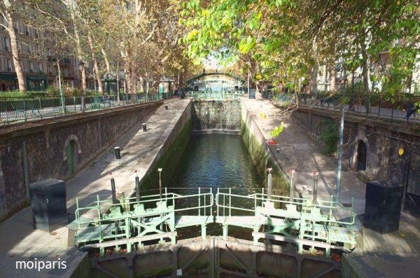 サン・マルタン運河から出発