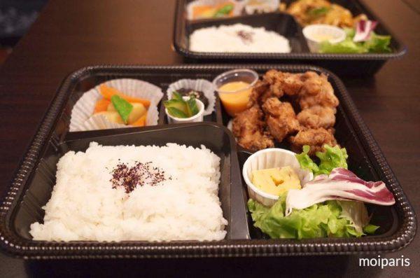 「OKAWARI」一番の人気メニューから揚げ弁当