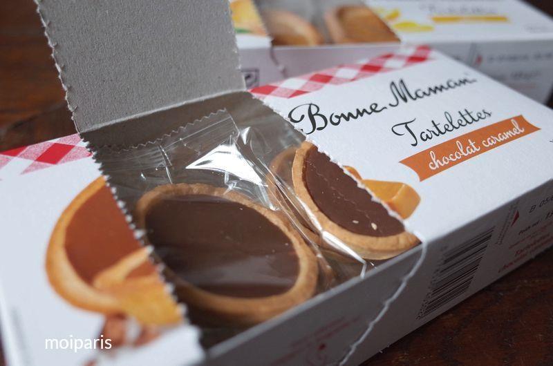 ボンヌ ママンのショコラキャラメルタルト