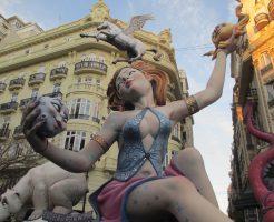 バレンシアの火祭り①