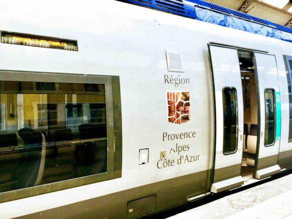 南フランス内での移動方法