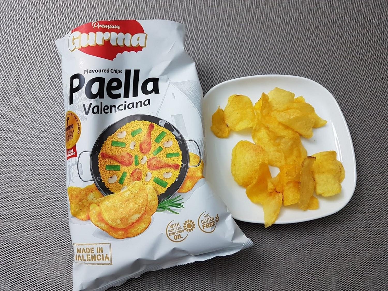 バレンシア風パエリア味のポテトチップス
