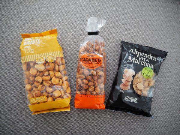 塩味・甘い味付け豊富なナッツ類