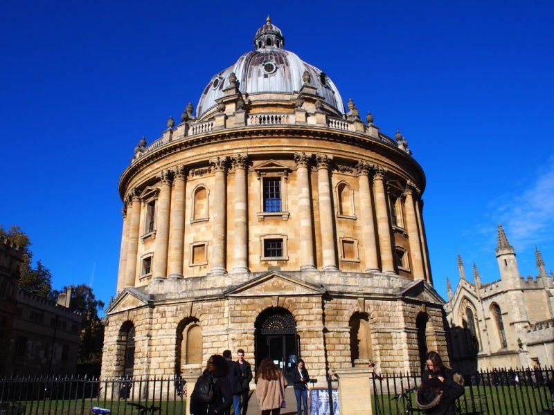 オックスフォード観光名所はオプショナルツアーが便利