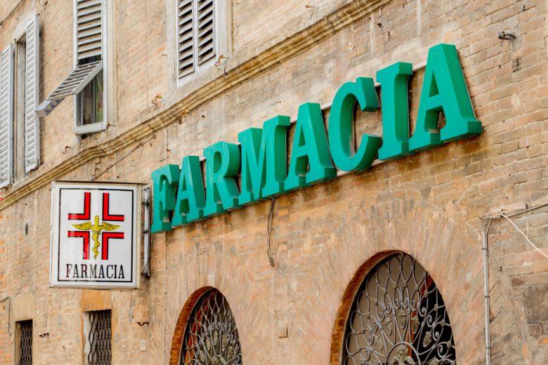軽微な体調不良ならイタリアの薬局が助けてくれます