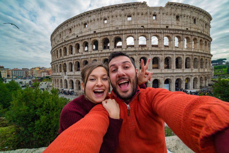 ベスパをレンタルしてローマの休日観光
