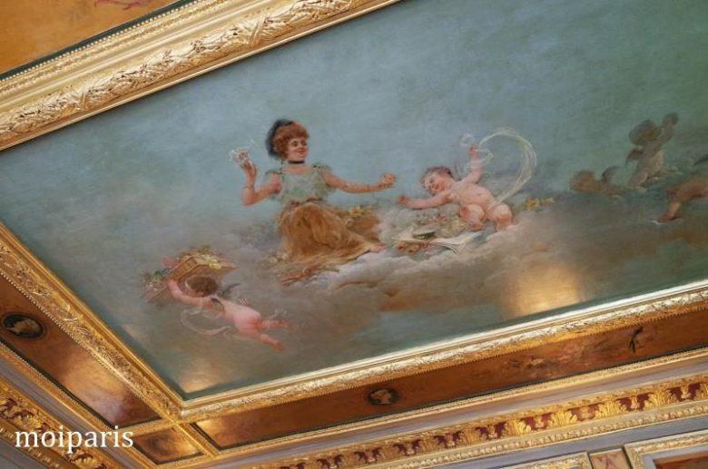 「パティシエ天使」と呼ばれて天井画