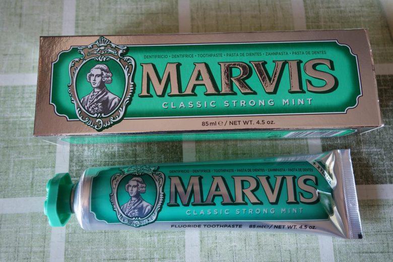 歯磨き粉マーヴィス
