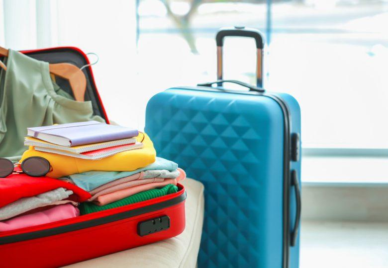 スーツケースのスペースには限りがある