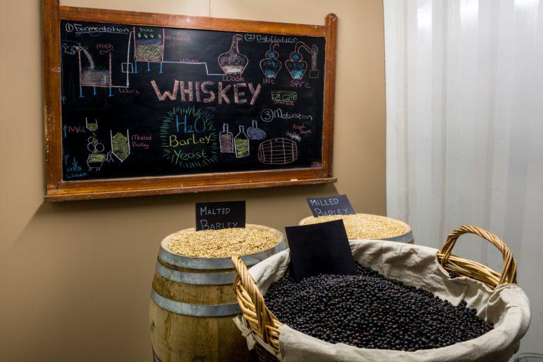 ウイスキー蒸留所が多数存在するスコットランド