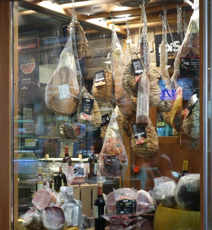 イタリアの肉製品は持ちこみ禁止