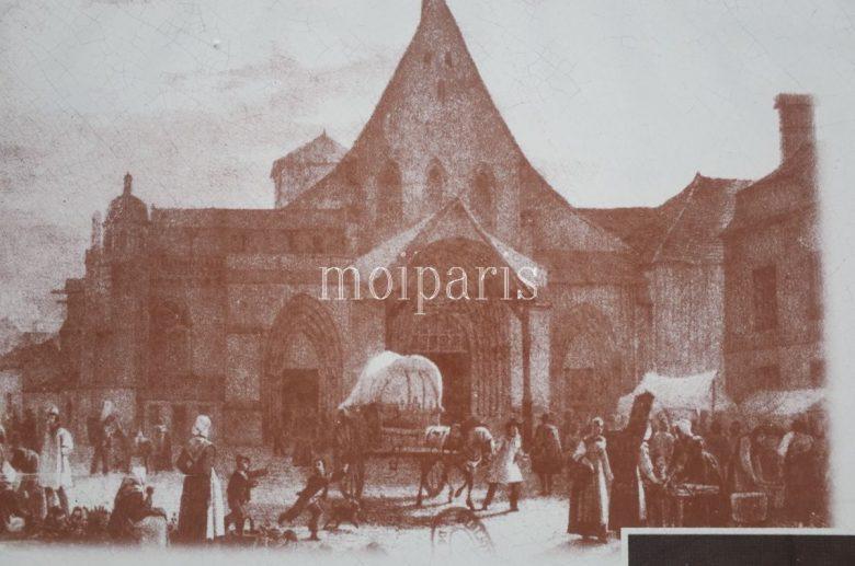かつてのシャンパーニュ大市の様子