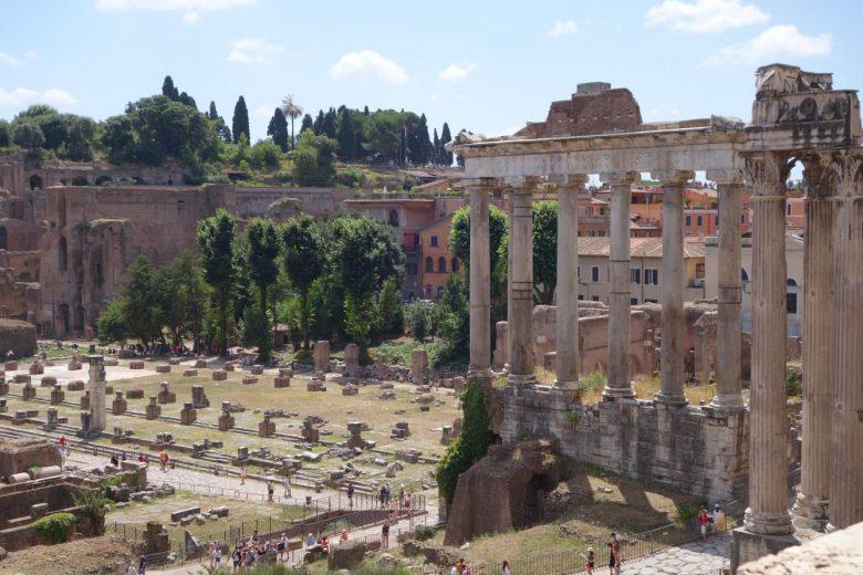 世界遺産だらけのローマはハネムーンに人気