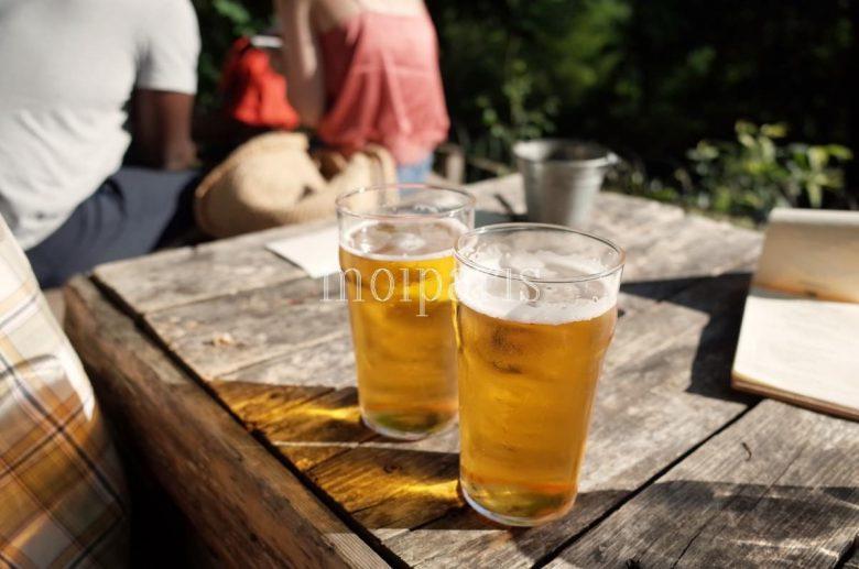 ビールは1杯5ユーロ
