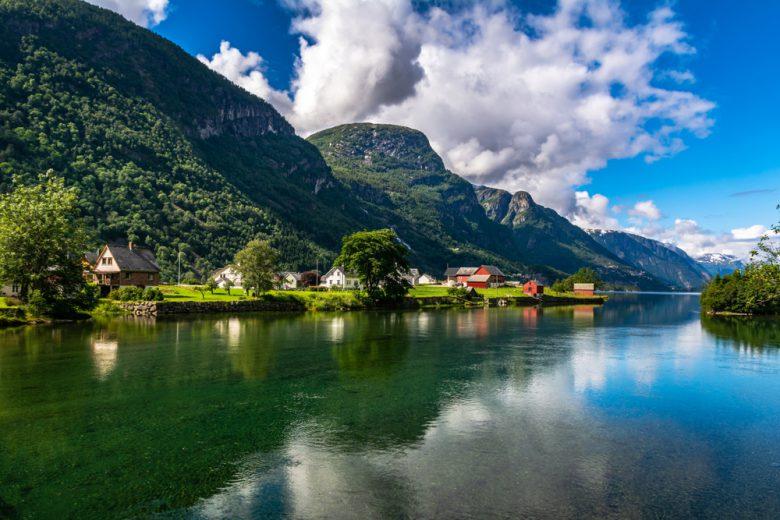 ノルウェーの美しい景色