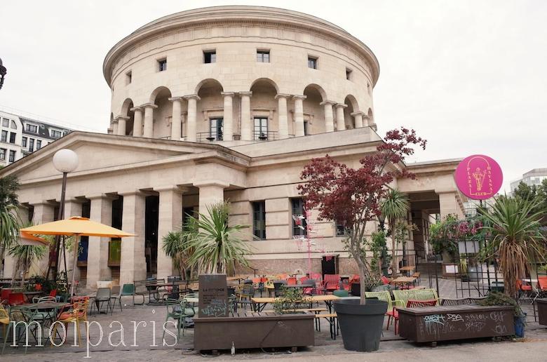 「ラ・ロトンド・ ド・ラ・ヴィレット(La Rotonde de la Villette)」のレストランバー
