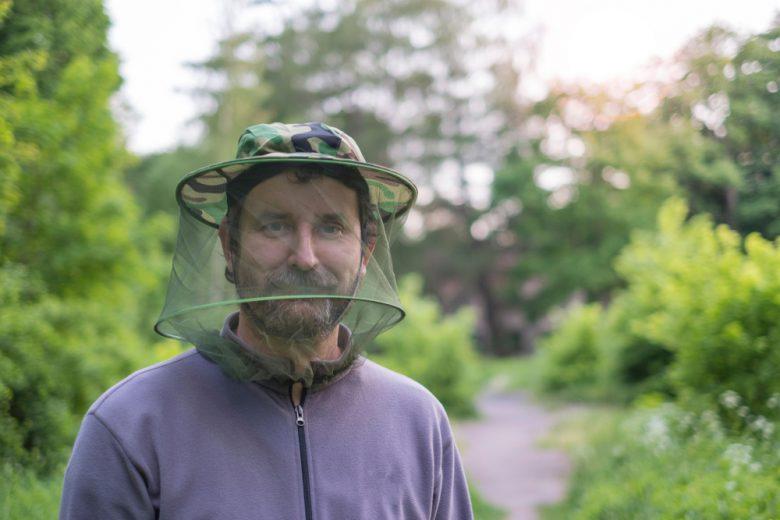 虫よけネットが必需品