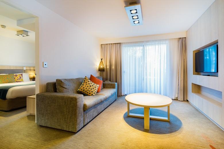 エミュウォークアパートメントの客室