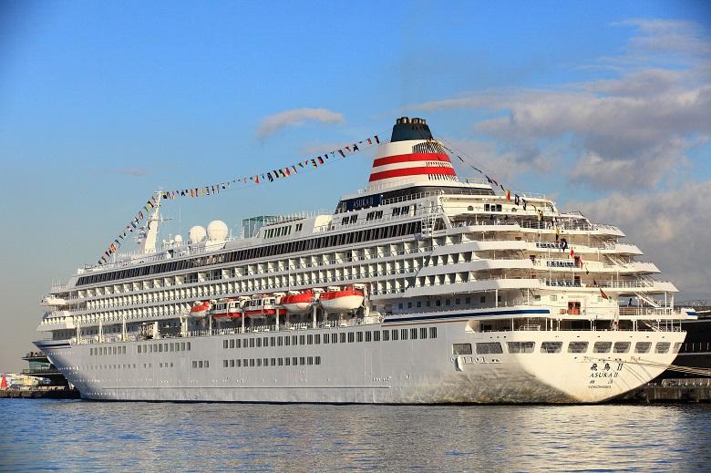 日本を代表する客船「飛鳥Ⅱ」