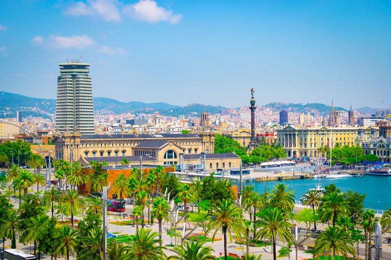 スペイン・バルセロナ港