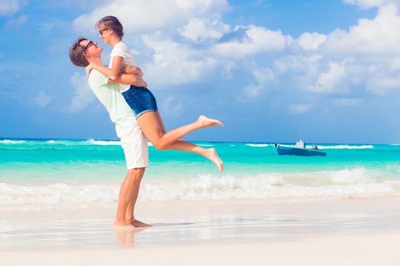 カリブ海のビーチリゾートは憧れ