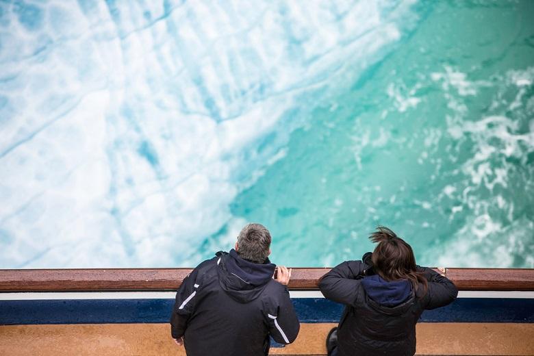 エンディコットアームの氷河