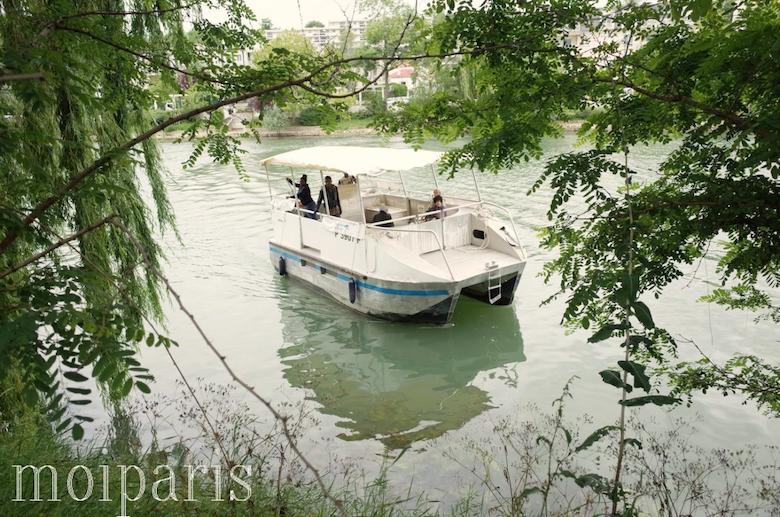 船のバス「ル・パスール・ ド・マルヌ」