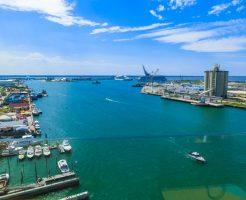 ポート・カナベラル港の風景