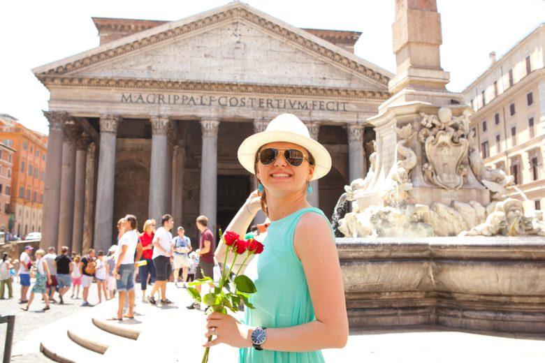 夏のローマ