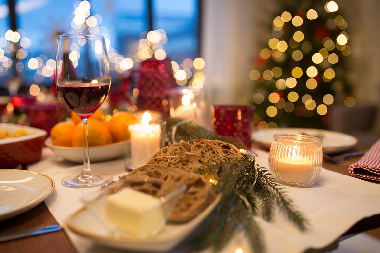 クリスマスディナーのイメージ