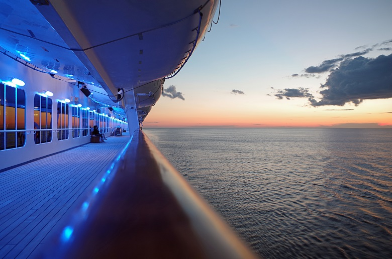 海外の客船で迎えるお正月