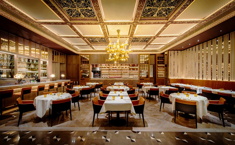ドーチェスターのレストラン「ザ・グリル」