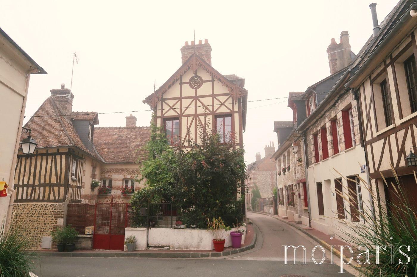 モンサンミッシェル旅行、ラ・ブイユ村、到着。