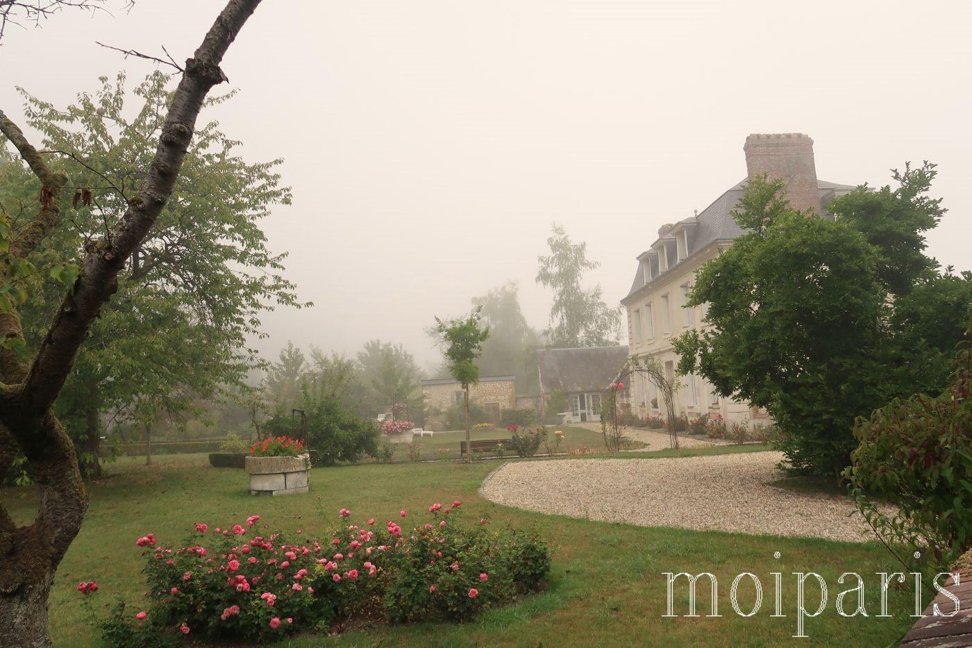モンサンミッシェル旅行、ラ・ブイユ村、石造りの家。
