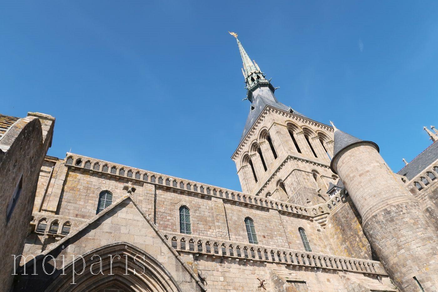 モンサンミッシェル、修道院、モンサンミッシェル付属教会。