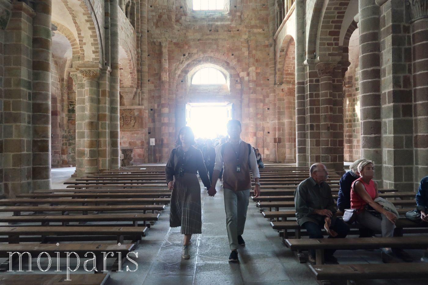 モンサンミッシェル、修道院、ロマネスク様式、フランボアイヤン様式。