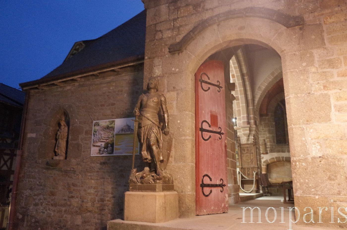 モンサンミッシェル、サンピエール教会。