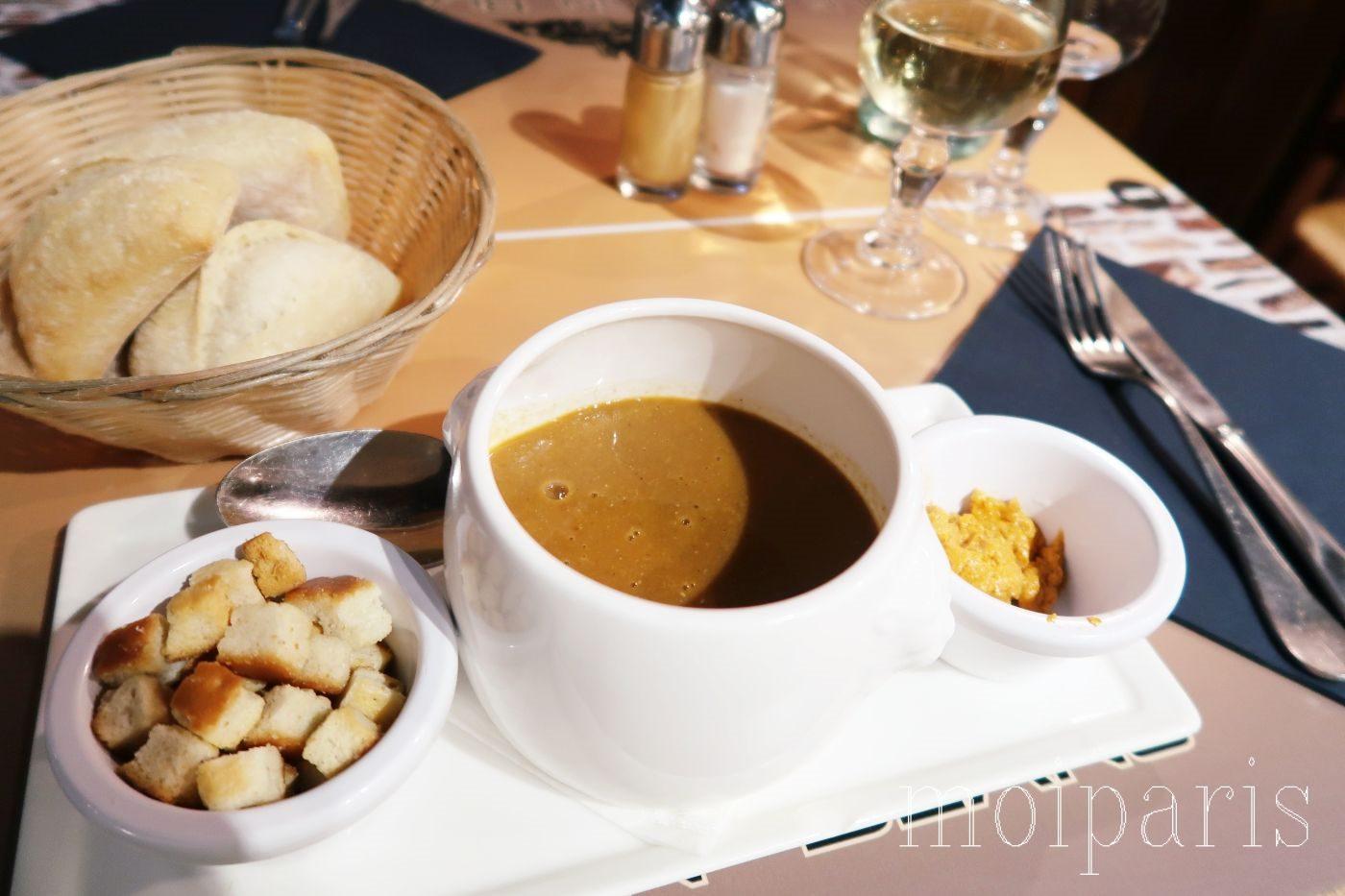 モンサンミッシェル、人気レストラン、料理。