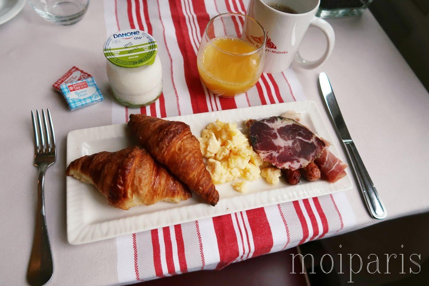 モンサンミッシェル、レストラン、有名店、朝食