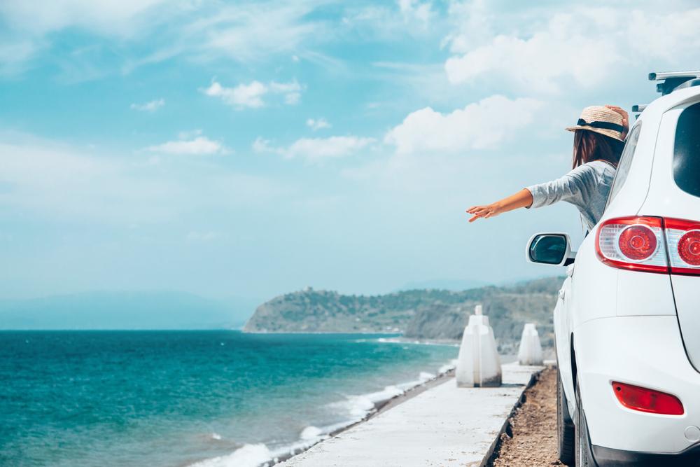 海辺、ドライブ。